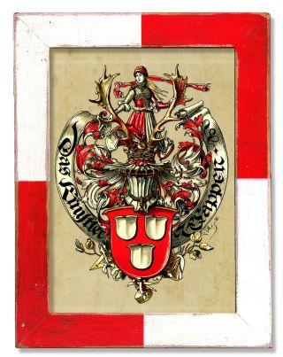 Maler Künstler Wappen Heraldik Historismus Mainz Ulm Jever Kiel Burg Büren Calw Bild
