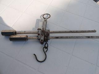 Alte Handwaage,  Sack - Wildwaage Bild