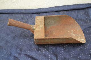 Alte Metallschaufel Handschaufel Futterschaufel Getreide Mehl Bild