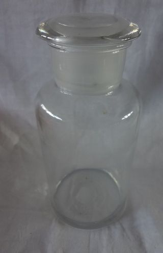 Altes Bonbon Glas Vorratsglas Tante Emma Bonboniere Apothekerglas Shabby Chic Bild