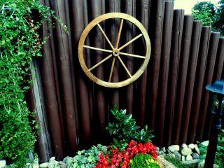 Zierwagenrad | Wagenrad | Holzrad | Ø70cm Bild