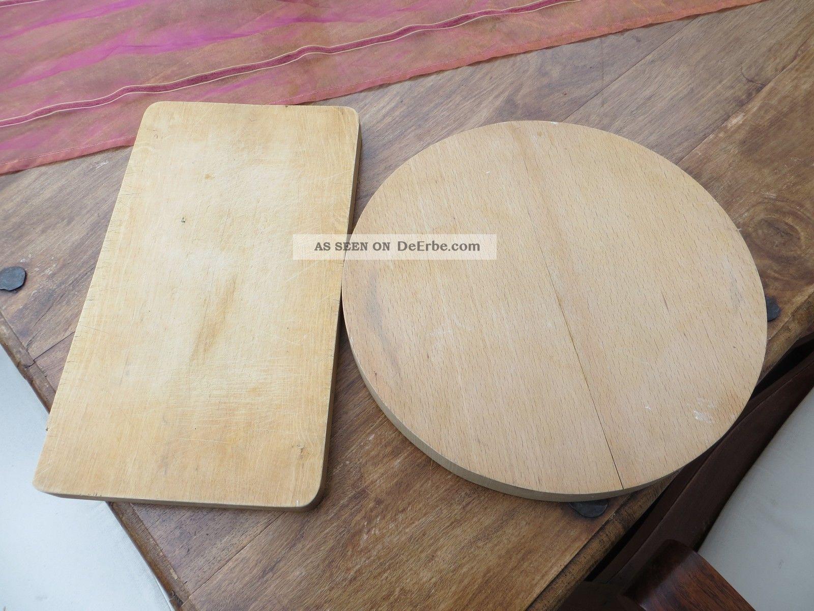 2 alte schneidebretter brotzeitbrett servierbrett jausenbrett dickes holz. Black Bedroom Furniture Sets. Home Design Ideas