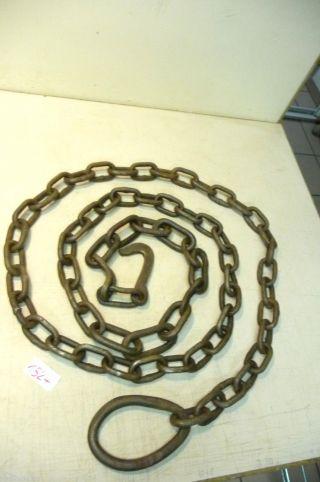 Nr.  1527.  Alte Kette Eisenkette 8 Kg Old Iron Chain Bild