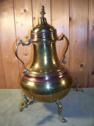 Gefäß Für Wasser Oder Wein,  Antik,  Messing U.  Kupfer, Bild