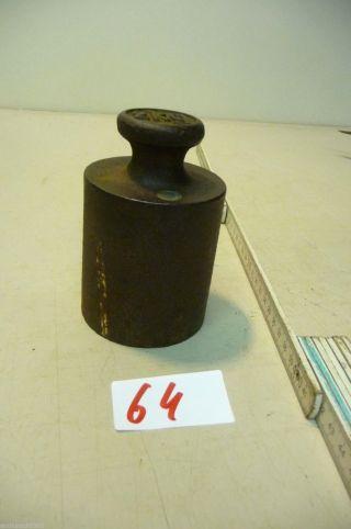Nr.  64.  Alte Gewicht 2 Kg Old Weight Bild