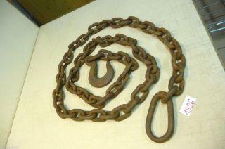 Nr.  1526.  Alte Kette Eisenkette 10 Kg Old Iron Chain Bild