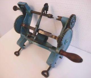 Rarität Uralte Apfelschälmaschine Aus Metall Von Metabo Aus Eisen 3 Kg Bild