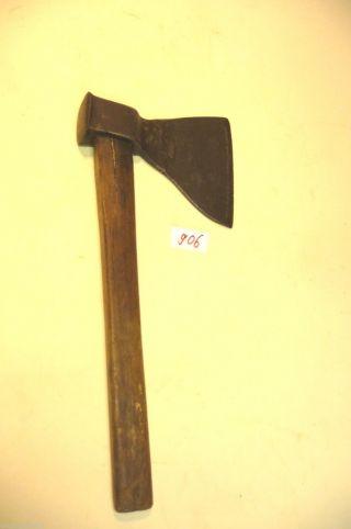 Nr.  906.  Alte Axt Beil Hacke Barock Hacke Old Axe Wood Tool Bild