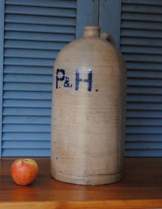 Schöne Flasche 10 Liter Höhe 42 Cm Durchmesser 21 Cm Bild