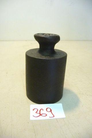 Nr.  369.  Alte Gewicht 2 Kg Old Weight Bild