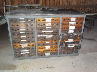 Loft Industrie Design Schubladenschrank Industrial Design Apothekerschrank Bild
