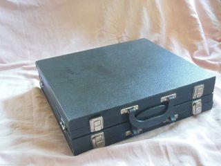 Präsentationskoffer Koffer Vertreterkoffer Glasvitrinenkoffer Glas Schmuckkoffer Bild