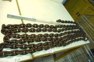 Nr.  1525.  Alte Kette Eisenkette 17 Kg Old Iron Chain Bild