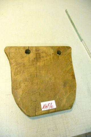 Nr.  1456.  Altes Schinkenbrett Holzbrett Schneidebrett Old Wooden Bread Board Bild