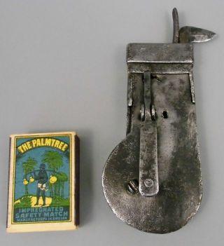 Um 1700: Riesiger Aderlaßschnepper / Aderlass - Schnepper,  Aus Eisen,  Selten Bild