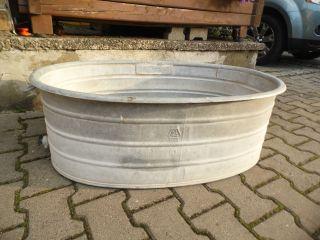 Sulo 90 Alte Zinkwanne Badewanne Mit Ablauf Zink Wanne Dicht Bild