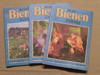 Die Neue Bienen - Zeitung,  1990,  Heft 9 Bis 11,  Imker,  Imkerei,  Bienenzucht Bild