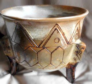 Ton - /keramik - Gefäß - Toskana - Durchm.  Ca.  25 Cm,  Höhe Ca.  23 Cm Bild