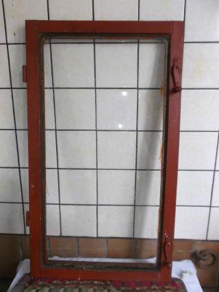 Antikes Altes Fenster,  Fensterflügel Aus Holz Um1900 Shabby Chic Vintage Deko Bild