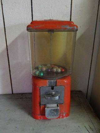 Alter Kaugummiautomat 50 - 60er Jahre Retro Vintage Bild