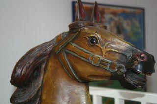 Karusellpferd Antik Bild