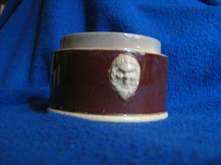 Antike Keramik - Pasteten - Tabak - Senf Topf Frankreich Um 1900 Bild