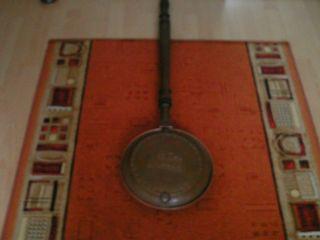 Antike Bettpfanne 18.  Jh.  Kupfer Erbstück Bild