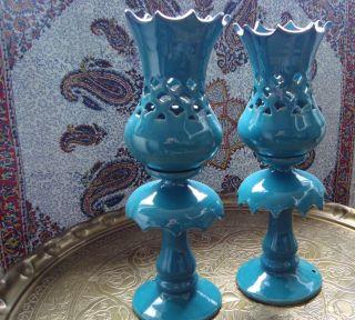Antike Persische Kerzenständer,  Von 1960 Bild