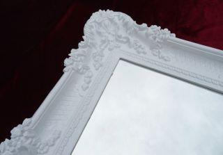 Wandspiegel Weiß 96 X57 Antik Barock Rokoko Spiegel Shabby Chic Retro Design 3 Bild