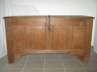Antike Eichenholztruhe Bild