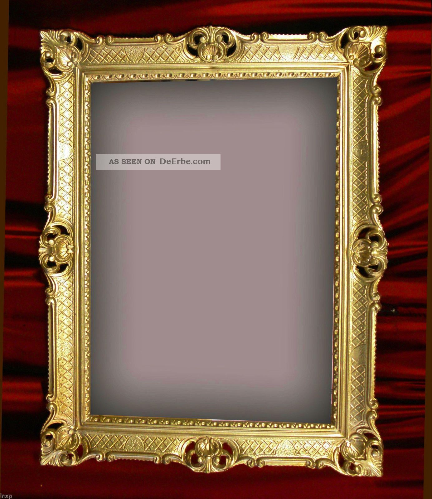 wandspiegel gold antik barock rokoko 90x70 cm wanddeko. Black Bedroom Furniture Sets. Home Design Ideas