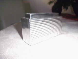 Tischfeuerzeug 925 Silber Bild
