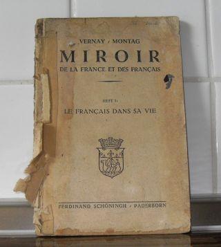 Miroir De La France Et Des Francais Heft 1 / Broschur 1946 Bild