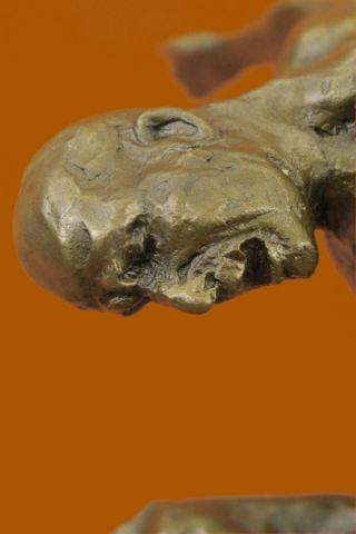 Schöne Große Kunst - Reines Hotcast Bronzemann Statueskulptur Figur Bild