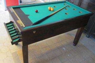 Billardtisch / Spieltisch Um 1900 - 1920 Bild