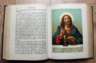 Evangeliches Haus - Predigtbuch Von 1890 Bild