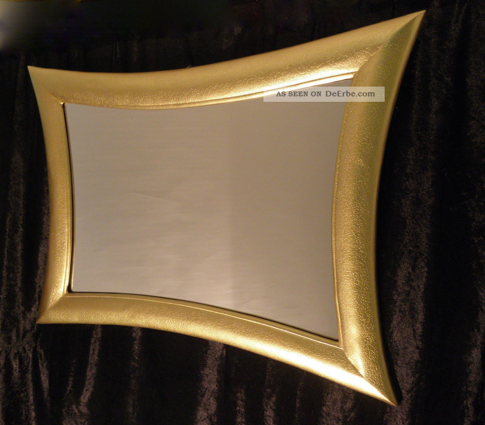 wandspiegel spiegel antikspiegel silber115cm x85cm holzrahmen modern retro. Black Bedroom Furniture Sets. Home Design Ideas