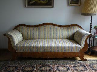Biedermeier ? Sofa Mit 3 Stühlen Bild