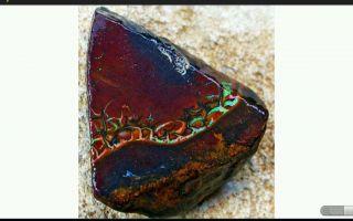 Opal Yowah Boulder Rohopal 30,  53 Ct Bild