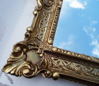 Wandspiegel Gold Antik Barock Badspiegel Flurspiegel Frisierspiegel 56x46 3 Bild