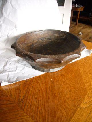 Antike Große Speiseschale Holz,  Asien China Philippinen Bild