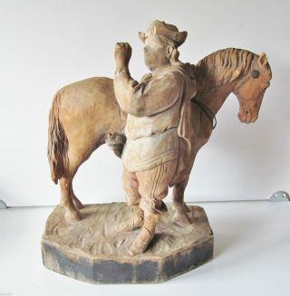 Der Trompeter Von Säckingen,  Skukptur,  Uralt Herold Pferd Mittelalter Unikat Bild