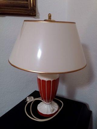 Originale AntiquitÄt - Lampenfuß.  Max Roesler,  Bad Rodach.  Wohl 1930er Jahre Bild