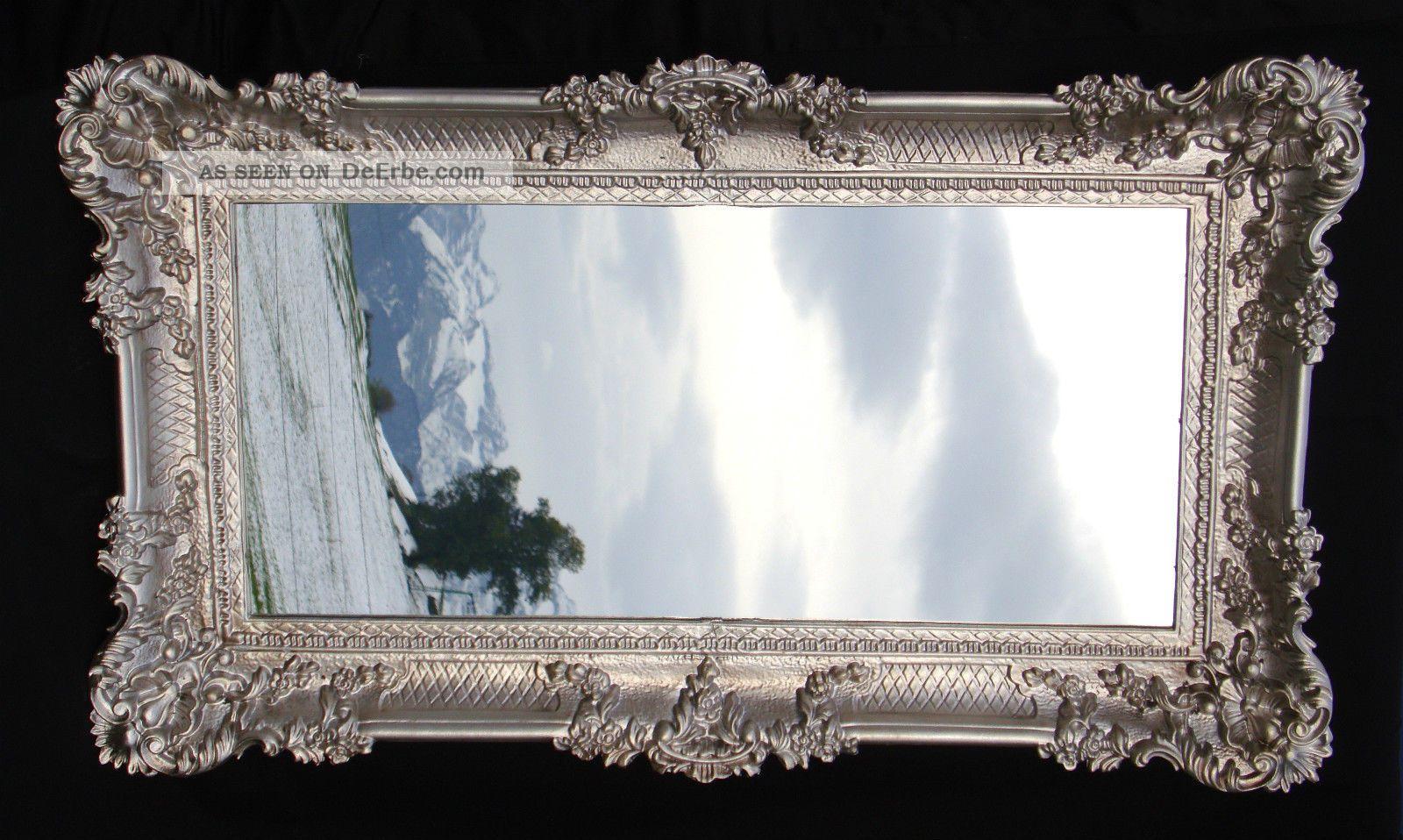bilderrahmen wei gold barock gem lderahmen rokoko 96x57 spiegelrahmen antik 0. Black Bedroom Furniture Sets. Home Design Ideas