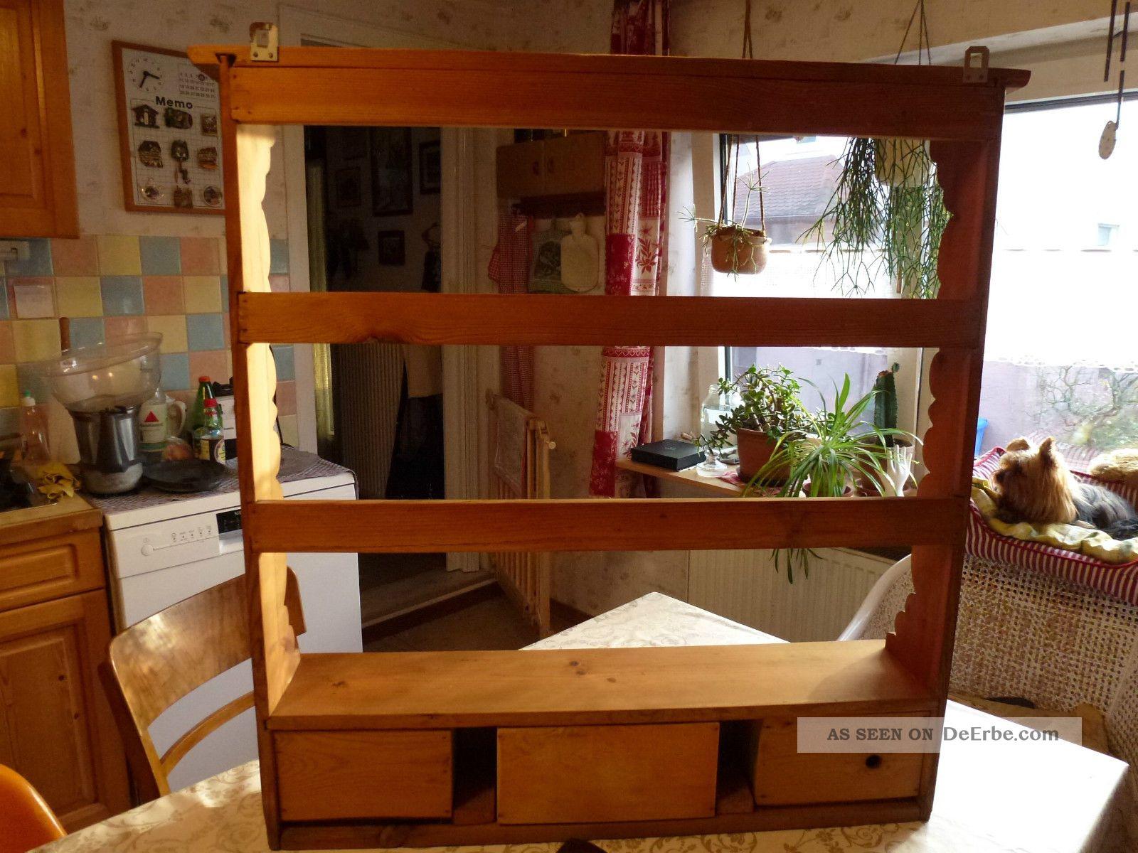 Küchenregal Antik Holz
