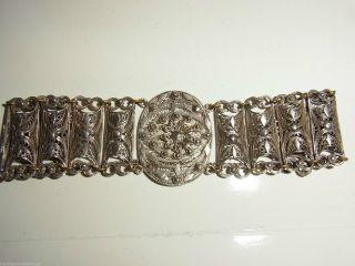 Silber Trachten Armband Friesland - Silberarmband Friesische Tracht 835 Silber Bild