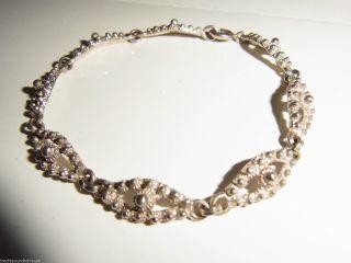 Silber Trachten Armband Friesland Silberarmband Friesische Tracht In 835 Silber Bild