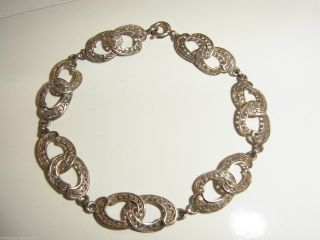 Silber Trachten Armband Friesland Silberarmband Friesische Tracht In 800 Silber Bild