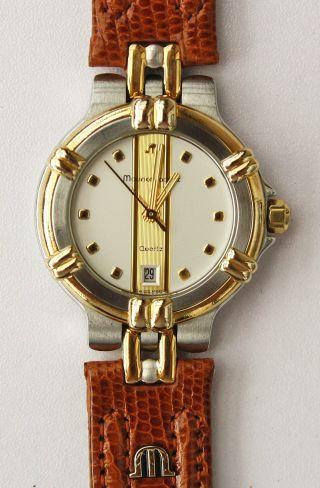 Maurice Lacroix 75326 Neues Teju Leder Armband Eidechse Eta Werk 956.  412,  Box, Bild