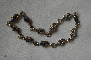 Sehr Altes Erbstück: Filligranes Silber - Armband 925er - Silber - Jugendstil (?) Bild